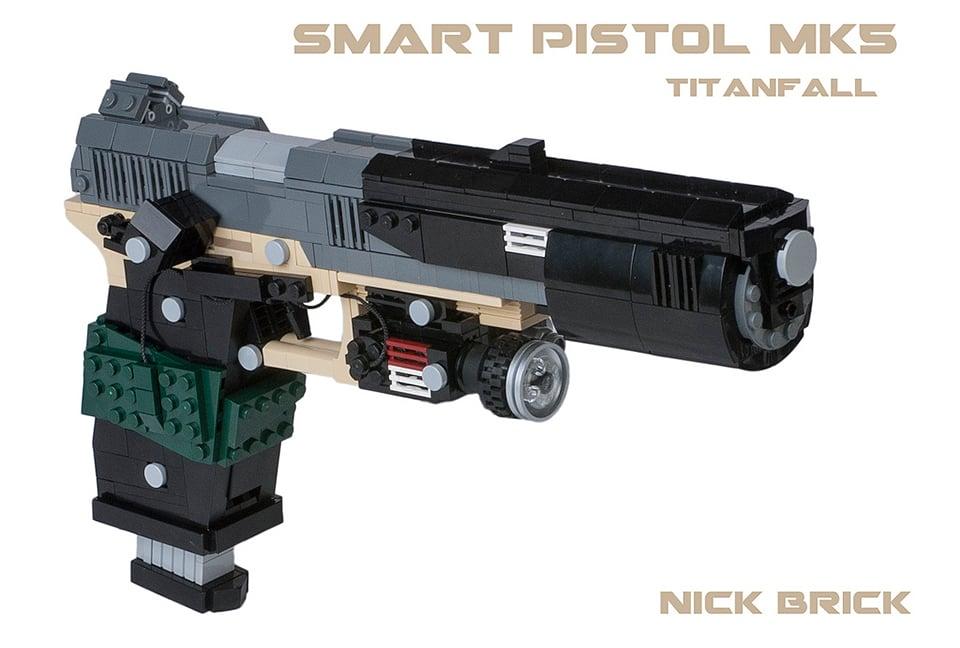 Lego Titanfall Weapon Replicas Anti Minifig Guns Technabob