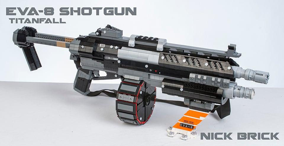 LEGO Titanfall Weapon Replicas: Anti-Minifig Guns