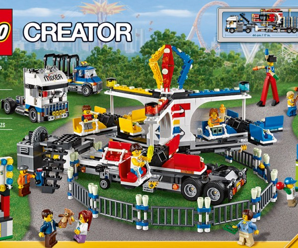 LEGO Fairground Mixer Set Lets You Join the Carnival… without Running Away