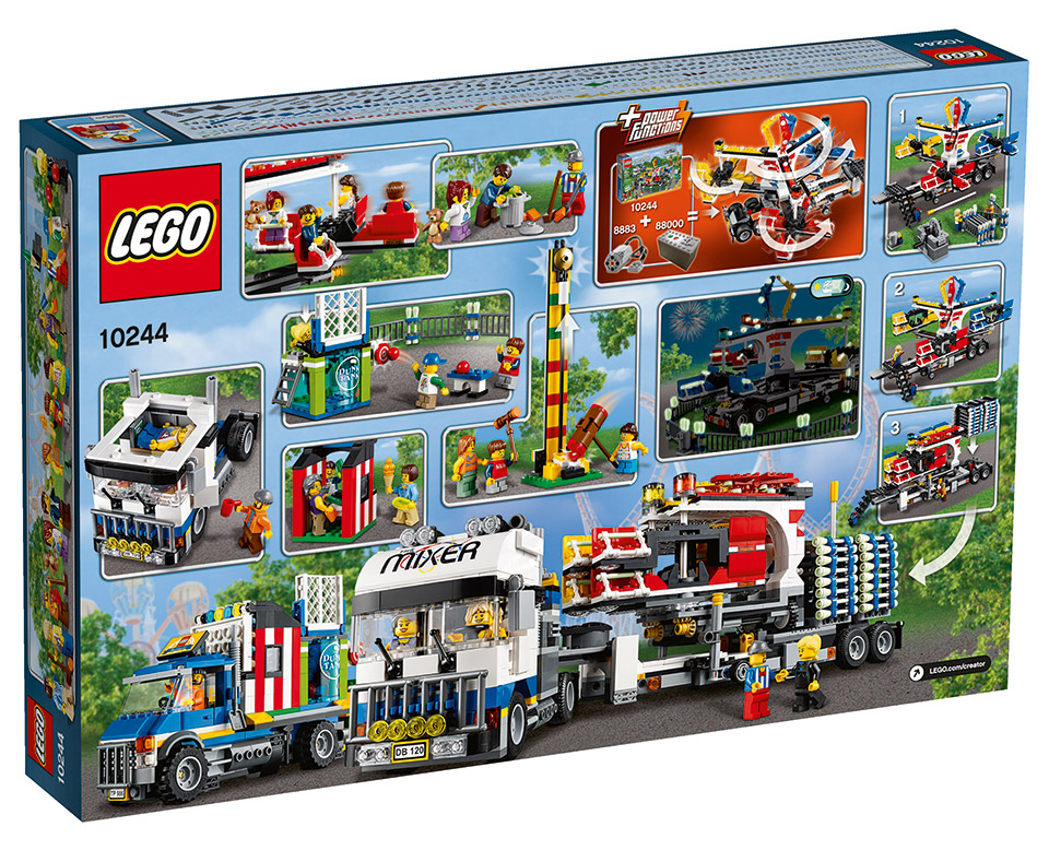 LEGO Fairground Mixer Set Lets You Join the Carnival... without ...
