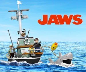 LEGO JAWS Set Hits Cuusoo: We're Gonna Need a Bigger Boat