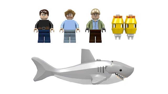 Lego Shark Toys : Lego jaws set hits cuusoo we re gonna need a bigger boat