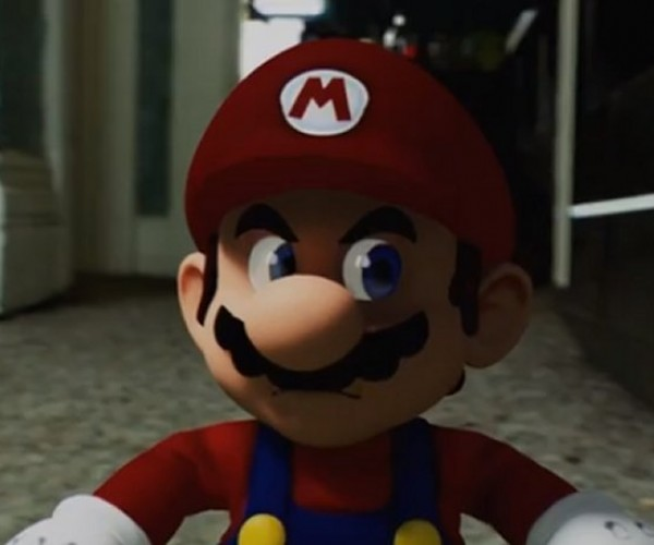 Mario Is Destroying This Guy's House