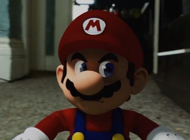mario in your house
