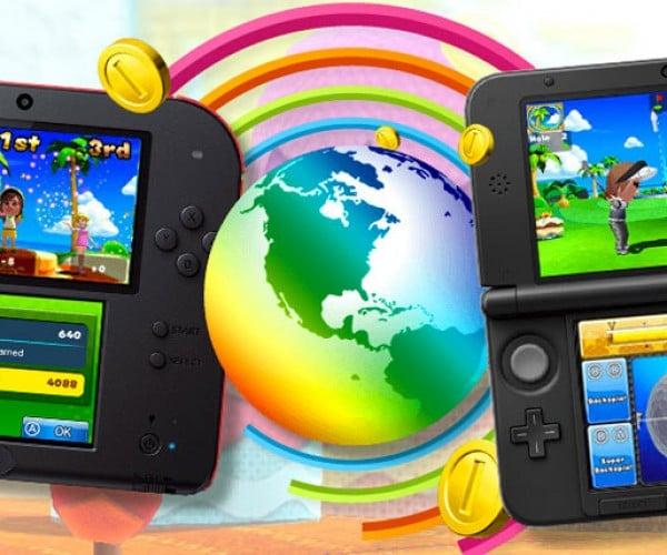 Mario Golf World Tour: Nintendo Fore!DS