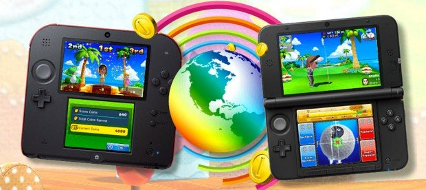 Mario Golf World Tour: Nintendo Fore!DS
