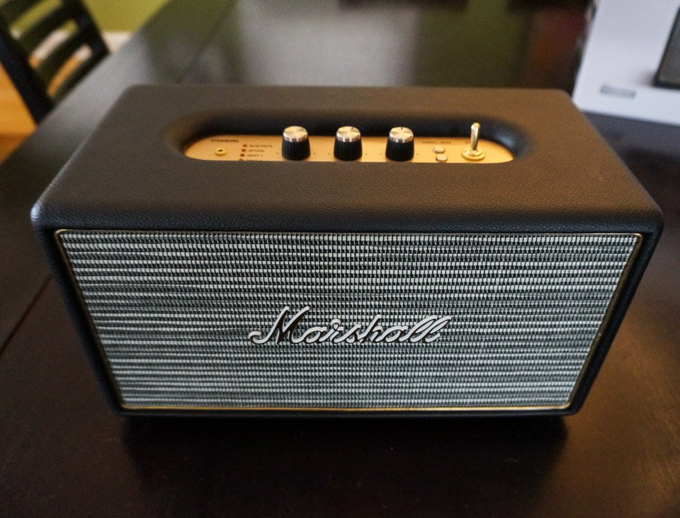 Marshall Stanmore Speaker Review Rock And Roll Technabob