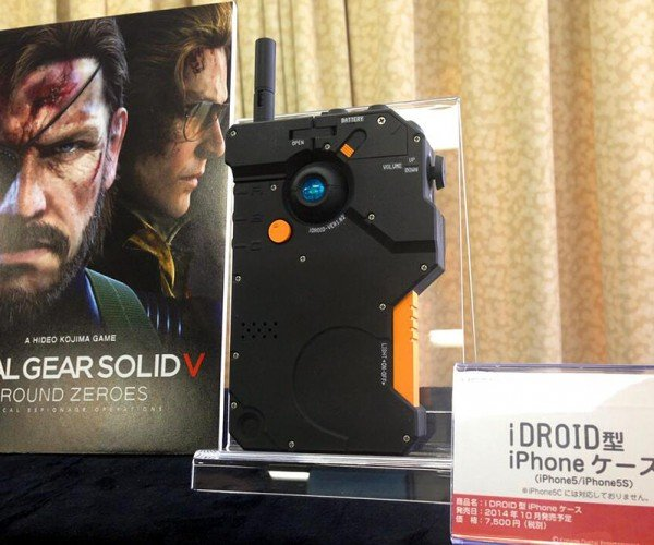 Metal Gear Solid V: Ground Zeroes iDroid iPhone 5/5S Case: !
