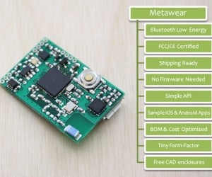 MetaWear Wearable Device Development Platform: Join the Revolution