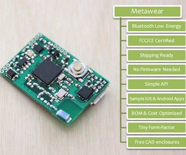 MetaWear Wearable Device Development Platform: Join the Revolution