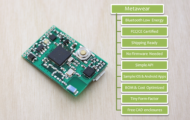 metawear ARM bluetooth wearable device platform