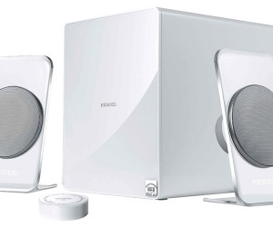 Microlab FC60BT 2.1 Speaker System Promises Crystal Clear Sound, Transparent Stands