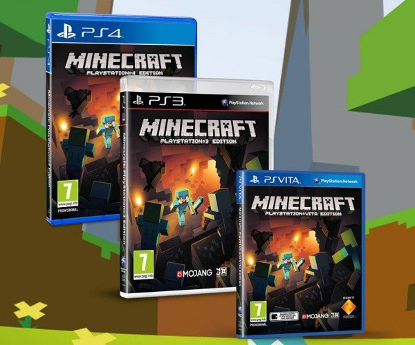 Minecraft PS3 Edition Lands on Blu-ray May 16, Soon on PS4 and PS Vita