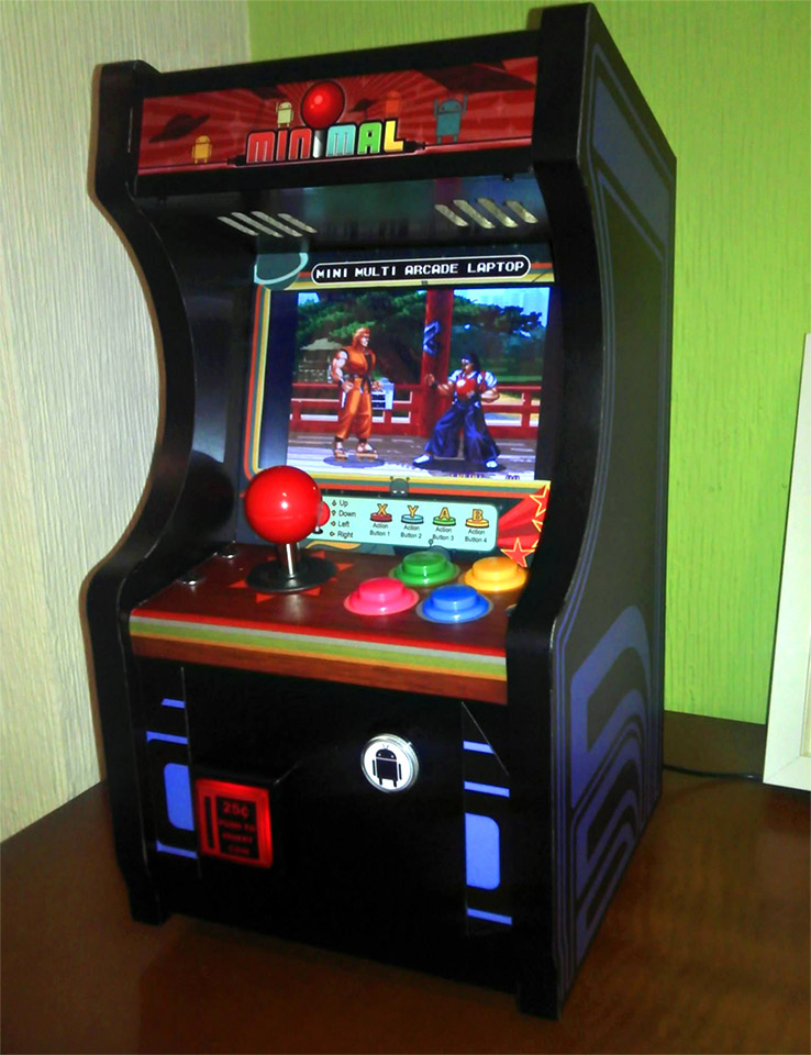 Minimal T80s Is A Tiny Working Arcade Cabinet Technabob