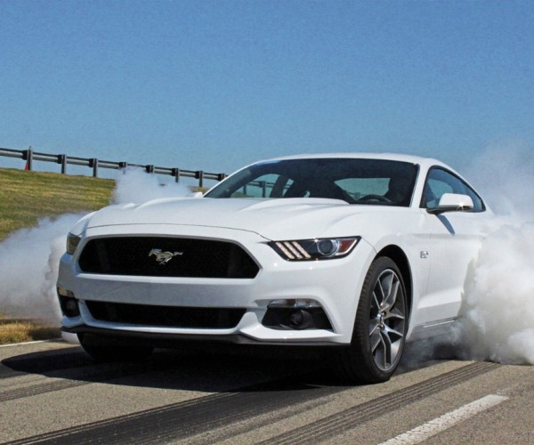 Burnouts Made Easy: Ford Shows off Line Lock for 2015 Mustang GT
