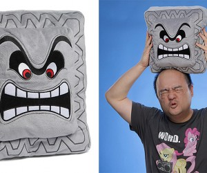 Nintendo Thwomp Pillow Will Squish Your Wallet