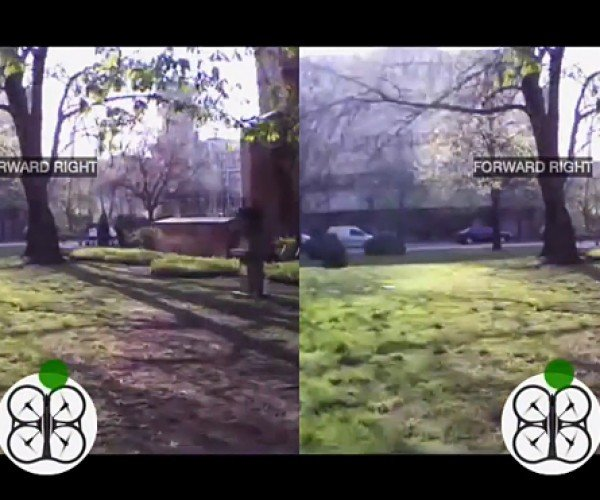 Parrot AR.Drone Controlled with Head Movement Using Oculus Rift: OculusDrone