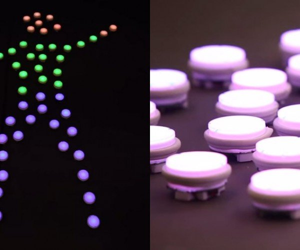 PixelBots: Making Things With Light! (And Robots!)