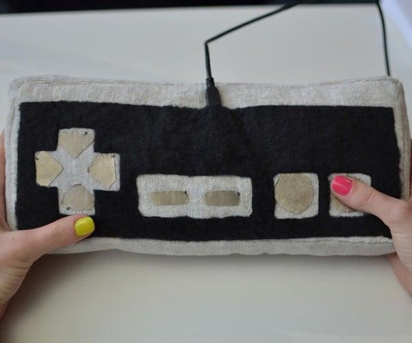 DIY Plush USB Game Controller: Hug and Play