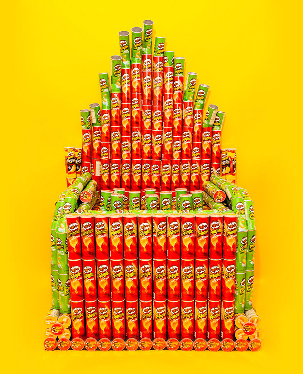 Pringles Can Pipe Organ: Once You Pop, You Can't Stop