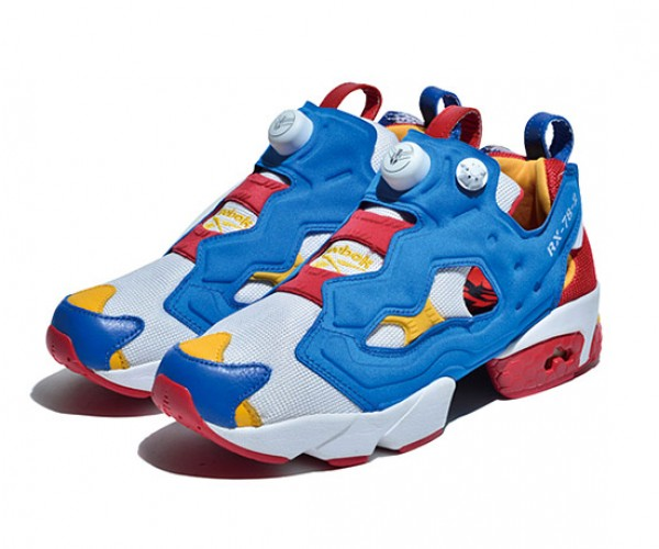 Reebok Gundam Instapump Fury: Mobile Shoes