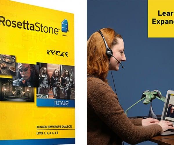 Rosetta Stone Klingon Edition: 'Sup Qoh?