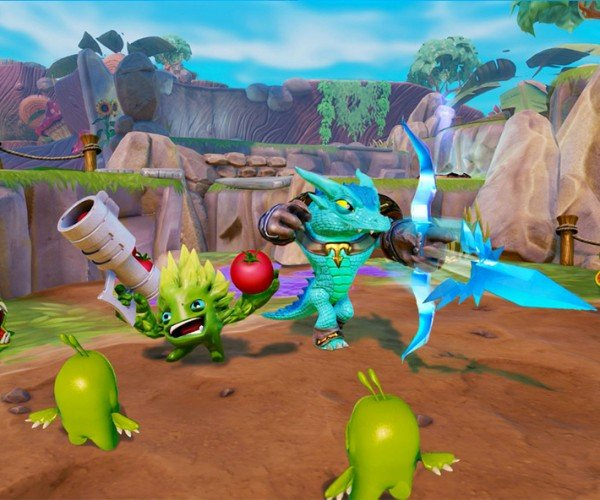 Skylanders Trap Team Catches Digital Bad Guys and Sends them into the Real World