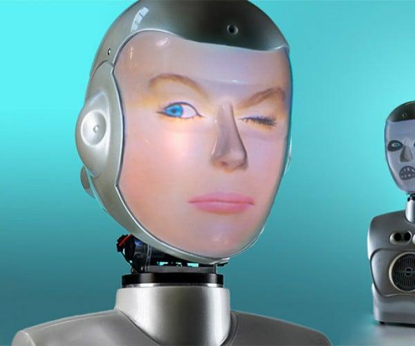 The Face-Stealing Robot