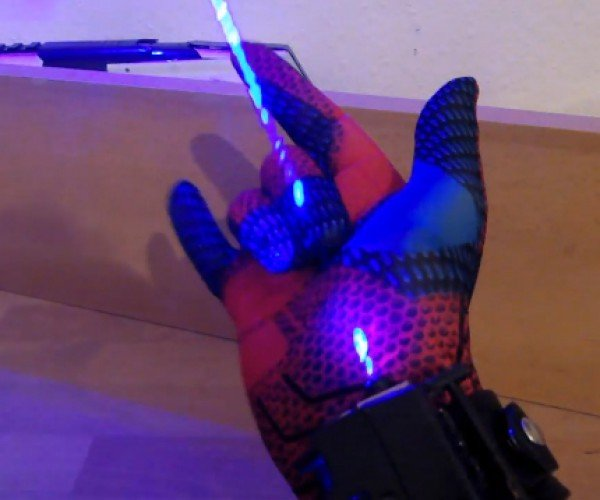DIY Spider-Man Wrist Shooters Ditch Webs for Harpoons & Lasers