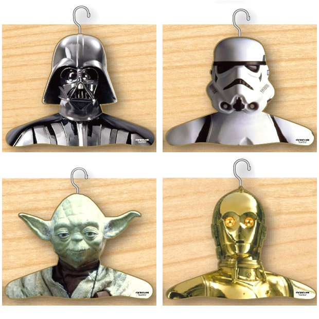 star wars coat hangers