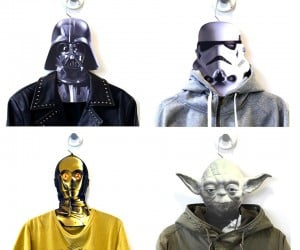 Star Wars Clothes Hangers: Your Lack of Closet Space is Disturbing