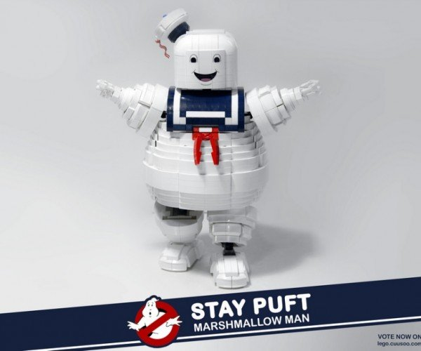 Ghostbusters Stay Puft LEGO Set: Something That Could Never Ever Possibly Destroy Us