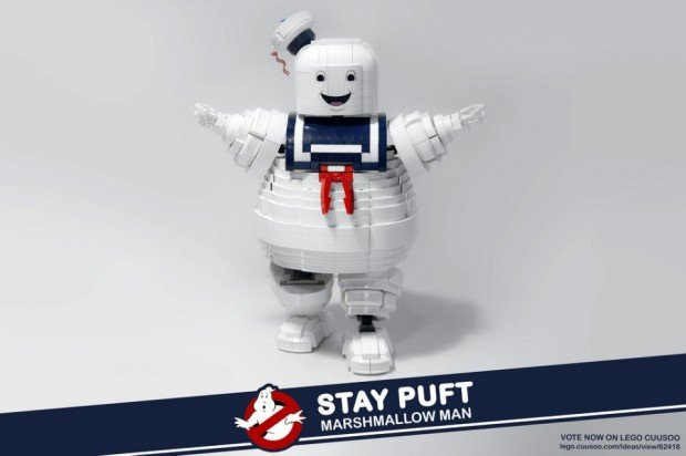 stay puft lego