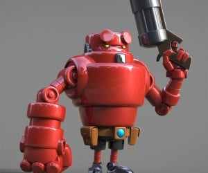 Steve Talkowski's Robots Will Take over the World… in a Cute Way
