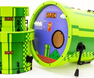 Super Mario Bros. Drum Kit: Our Drumsticks are in Another Castle
