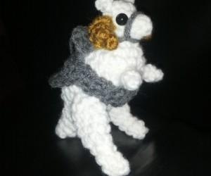 Crochet Amigurumi Stuffed Tauntaun: Soft Hoth