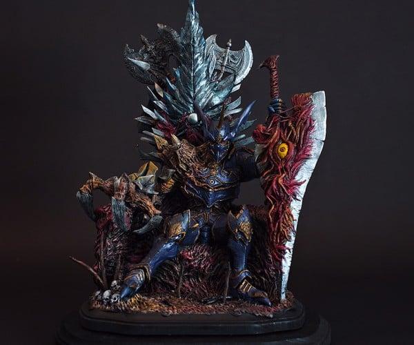 SoulCalibur Nightmare Statuette: Throne of Souls