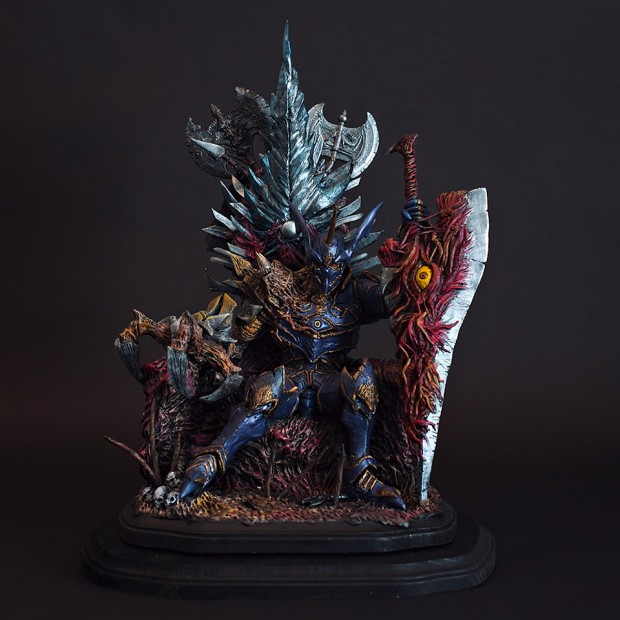 soulcalibur nightmare statuette throne of souls