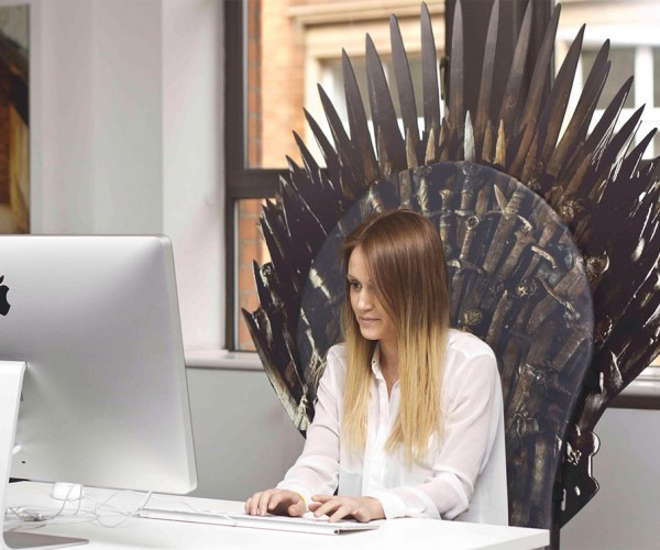 Transform Any Chair into the Iron Throne