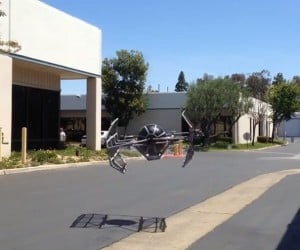 Flying TIE Fighter Quadcopter Is Ready to Chase X-wings