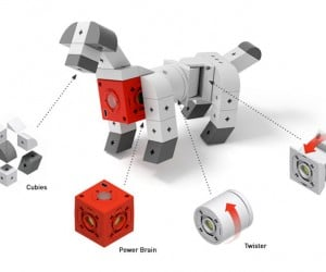 Build and Train Endless Toy Robots with Tinkerbots