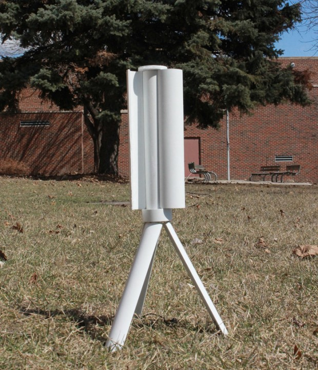Trinity Portable Wind Turbine Goes with the Wind