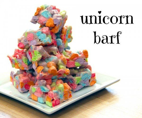 Unicorn Barf, It's What's for Dinner