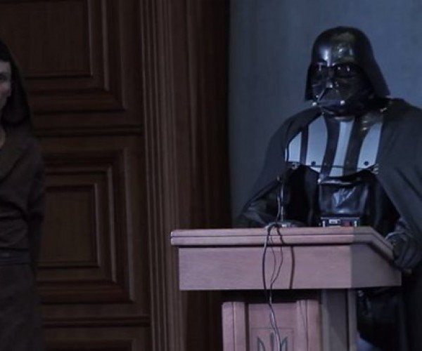 Darth Vader Will Not Be President of the Ukraine after All