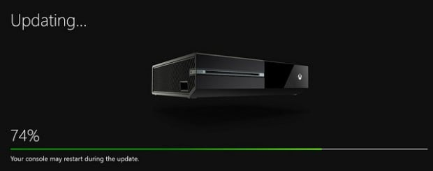 Xbox One April 2015 Update Drops