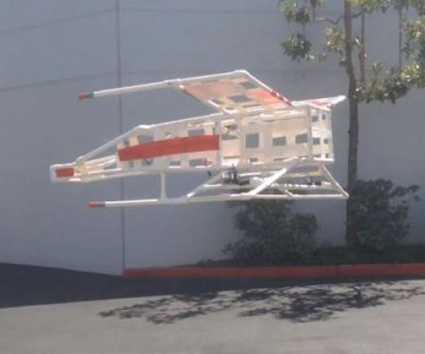 Flying X-wing Tri-rotor: X-wing Fighters Are Now in Our Skies