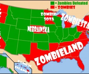 If The Zombie Apocalypse Comes, Stay Away from New Jersey