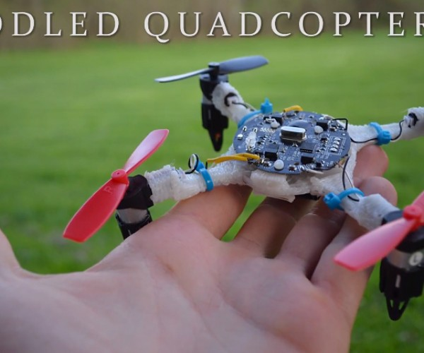 Quadcopter Made Using 3D Printing Pen: Drawne