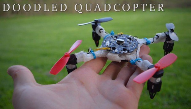 3d printed quadcopter by matt quest 620x353