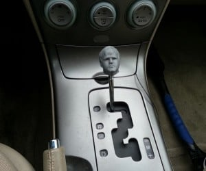DIY 3D Printed Shift Knob Wouldn't Sell Well in Winterfell